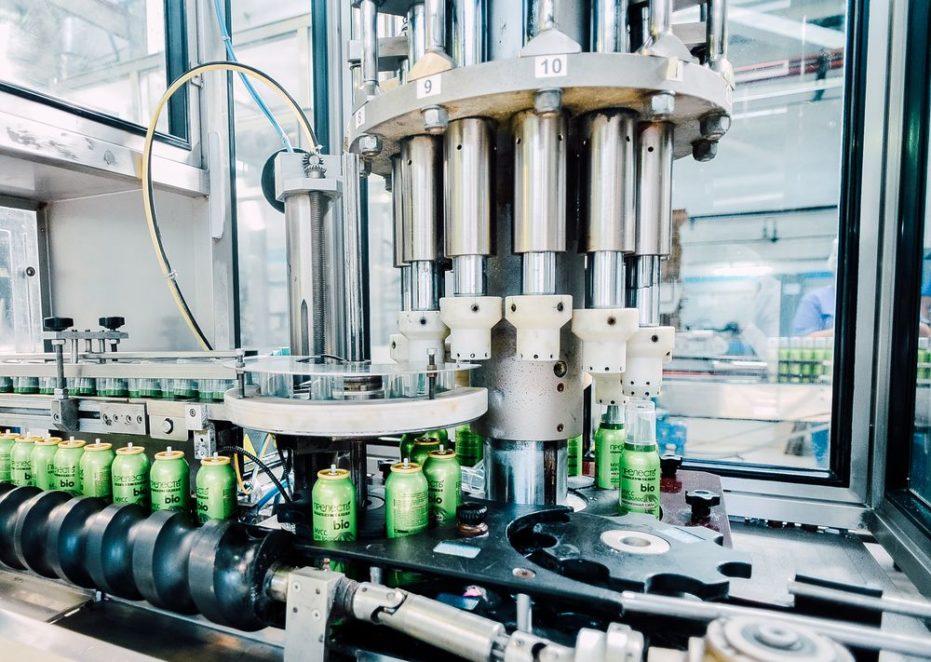 Оборудование  для хранения и составления газовых смесей для аэрозолей